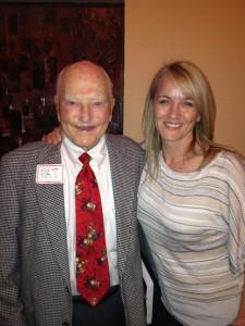 With Pat Hyndman